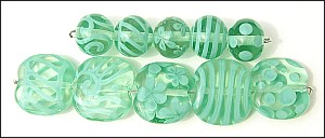 Celadon Rounds - Click for larger image in a new window.