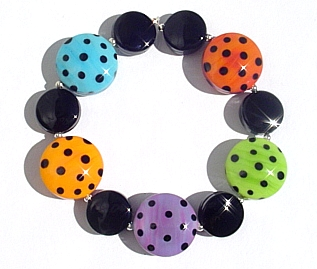 Spree Brights Bracelet - Click for larger image in a new window.